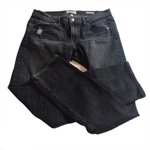 Frame L'Homme Straight Distressed Jeans